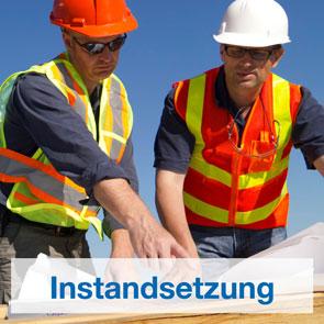 Herstellerunabhängige Regalinstandsetzung durch erfahrene Monteure.