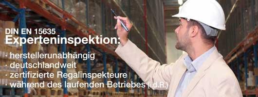 Deutschlandweite, herstellerunabhängige Regalinspektionen vom Planungsbüro Buter aus Melle.